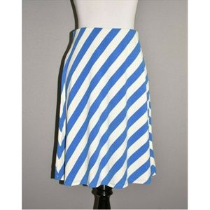 TOMMY BAHAMA Diagonal Striped Pull-On Skirt
